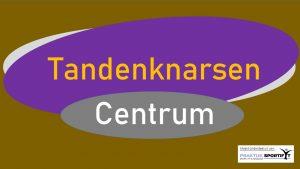 Tandenknarsen Centrum Logo